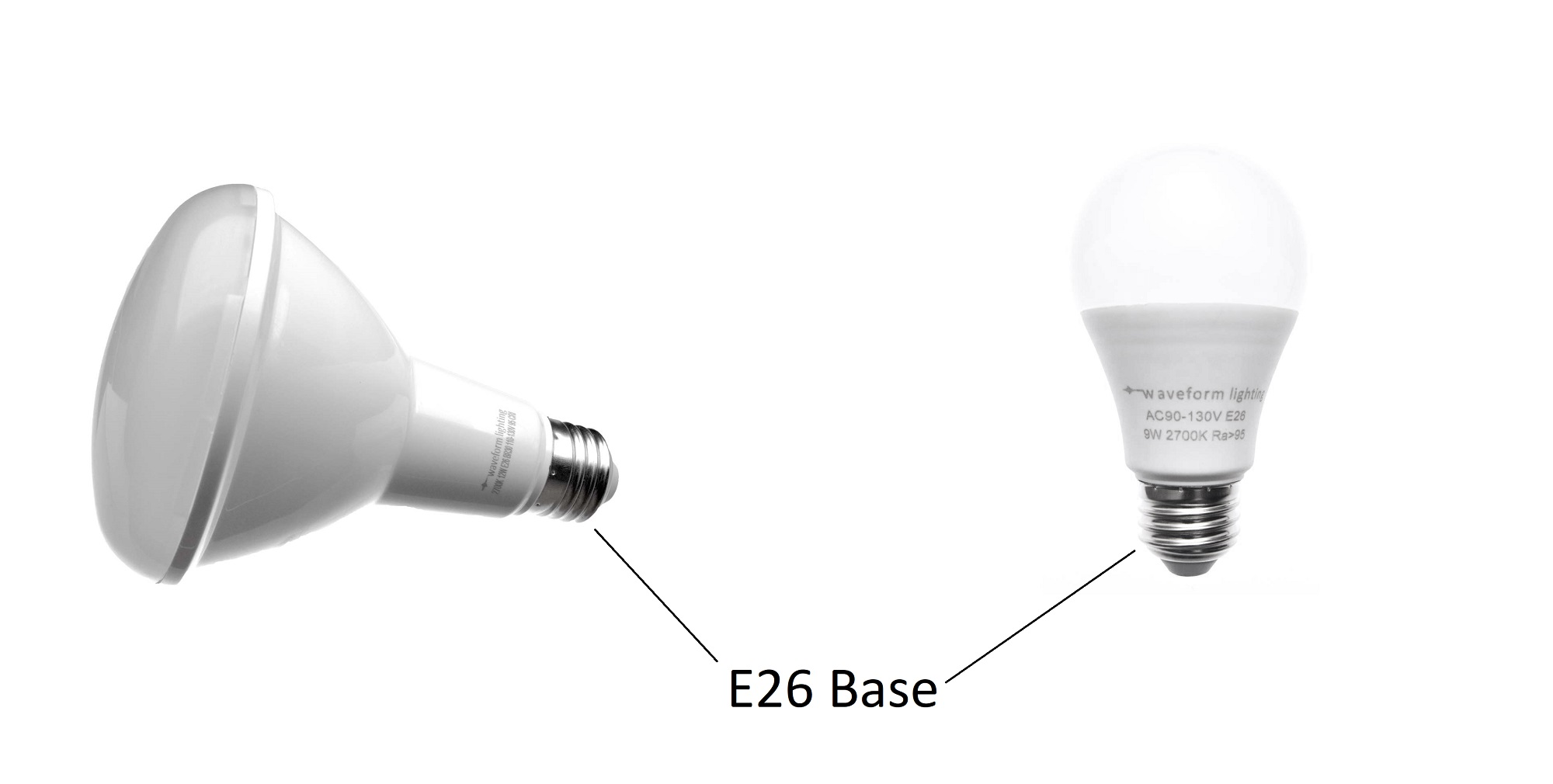 What Is An E26 Bulb And Does It Look Like Waveform Lighting Besides Incandescent Light Bulbs On Diagram Therefore Any Or Lamp That Utilizes The Cap Base For Mounting Electrical Contact